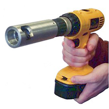 Cable Stripper Operated by Cordless Drill