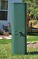Secondary Service Pedestals - Steel, Rectangular